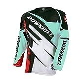 Uglyfrog 2018 Downhill Trikot Lange Ärmel Herren Mountainbike Freeride BMX Fahrradtrikot Motocross MTB/Downhill Bekleidung Z07