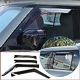 DIYUCAR per LR Defender 110 90 D240 2020 deflettori di vento auto, parapioggia per finestrini auto, 4 pezzi