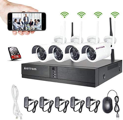 Aottom 8CH 1080P Kit de Vigila