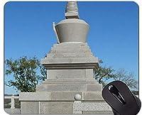 注文の元のヒョウシリーズマウスパッド、Stipaの彫像仏禅のマウスパッド