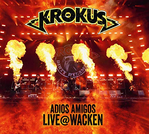 Adios Amigos Live At Wacken [CD/DVD]