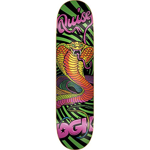DGK Skateboards-Brett/Deck, 20,32 x 91,9 cm, Schwarz