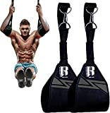 Hanging Ab Straps for Pull up Bar Ideal Pull up assist straps Pull up Bar Straps and Hanging Arm Straps for Abs Elbow Hanging Straps and Gym Straps for Hanging Leg Raises
