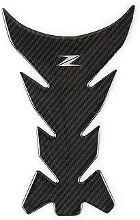 Color : Green For il caso della protezione in fibra di Kawasaki Z1000 Z1000SX Z800 Z750 carbonio 3D Moto Adesivo rilievo del carro armato Edition decalcomanie