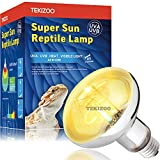 TEKIZOO UVA UVB Sun Lamp 160W High Intensity Self-Ballasted Heat Basking Lamp/Light/Bulb for Reptile and Amphibian