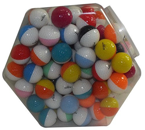 Buy Bargain Nitro Eclipse 120 Golf Balls, Assorted White/Multicolor