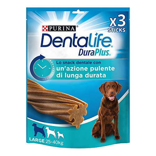 Purina DentaLife Snack Dental para Perro Grande DuraPlus Large 5 x 243g - 5 Stick