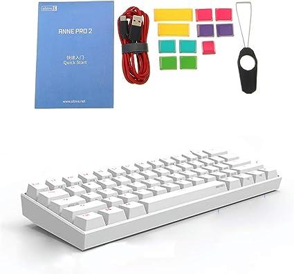 Teclas de teclado para juegos mecánicos Anne Pro 2 60% NKRO ...