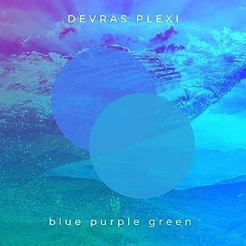 Blue Purple Green
