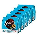 Senseo Kaffeepads Entkoffeiniert / Decaf, Reiches Aroma, Intensiv & Ausgewogen, Kaffee, neues Design, 5er Pack, 5 x 16 Pads