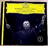 Deutsche Grammophon 138 926 - BRAHMS - Symphonie N°3 en fa majeur - Variations sur un thème de Haydn - Herbert Von Karajan - Orchestre Philharmonique de Berlin - Très belle pochette ouvrante - Disque Vinyle LP 33 tours (et non CD)