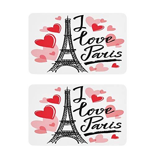 Mnsruu Imanes decorativos para nevera, diseño de la Torre Eiffel de París, 2 piezas, para cocina, oficina, cocina, etc