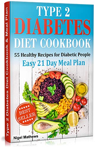 Amazon Com Type 2 Diabetes Diet Cookbook Meal Plan 55 Healthy
