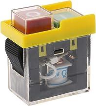 LANDUM AC 250V 6A Impermeable Electromagnético Pulsador Máquina Cortadora Sierra Sierra Taladro On Off