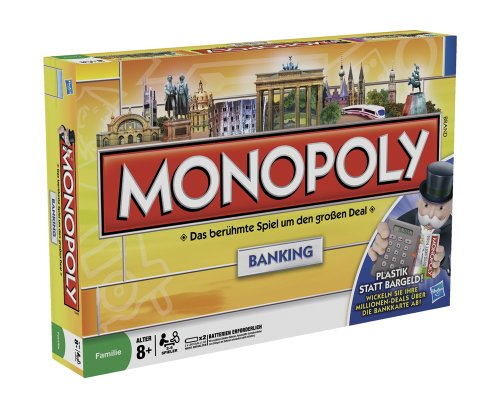 Parker 00114100 - Monopoly Banking, deutsche Version