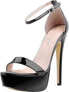 Best ankle strap platform sandal heels Reviews