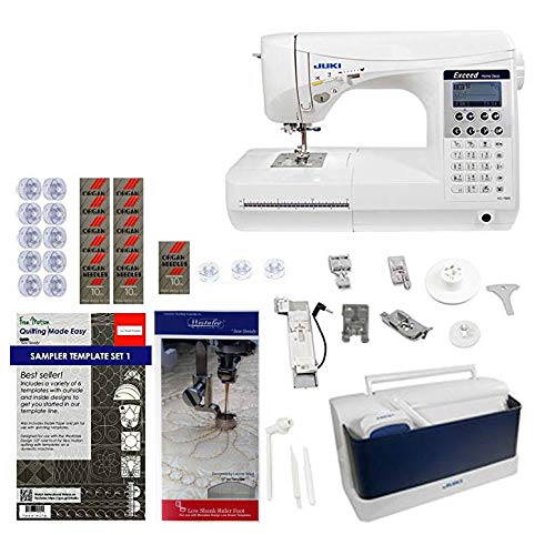 Juki HZL-F300 Exceed Series - Full Sized 9 inch Throat Computer Sewing Quilting Machine w/Limited time Quilters Package