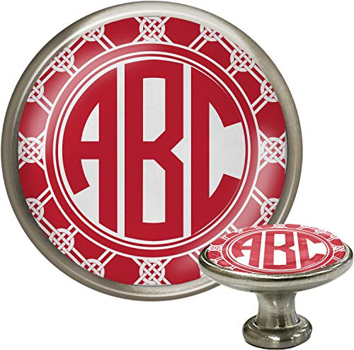 Celtic Knot Cabinet Knob (Silver) (Personalized)