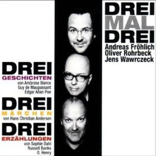 Drei Mal Drei audiobook cover art
