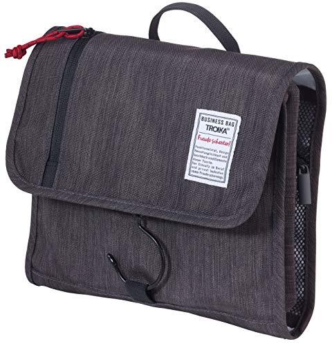 Troika Reise-Kulturtasche mit Haken zum Aufhängen und als Schließe