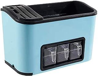 SPNEC Multifonction Spice Rack, Assaisonnement Jar Boîte de Rangement, comptoir de Cuisine Organisateur de Stockage for Fl...