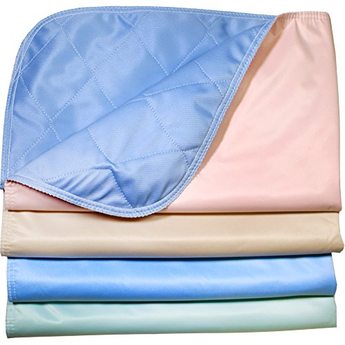 Careoutfit Pack of 4 - Reusable Stain Resistant Quick Absorbent/Washable Large Dog/Puppy Training Travel Pee Pads - Size 24 x 36
