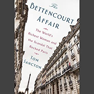 The Bettencourt Affair audiobook cover art