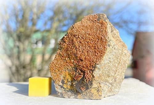 Vanadinite - Pierre minérale spirituelle de guérison - RSA816 - Certifié SilverGeo® - 100 % authentique