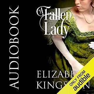 A Fallen Lady audiobook cover art