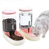 UniqueFit Pets Cats Dogs Automatic Waterer and Food Feeder 3.8 L with 1*