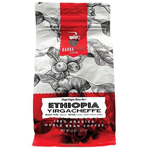 Barbarossa Ethiopian Yirgacheffe Coffee - Premium Quality Handcrafted - Natural Processed | 2019 Neighborhood Favorite Award…