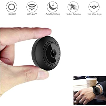 Mini Sport DVR and Car Dash Camera hangang Small Camera 1080P Full HD Hidden Cameras Clip Body Cam for Home and Office