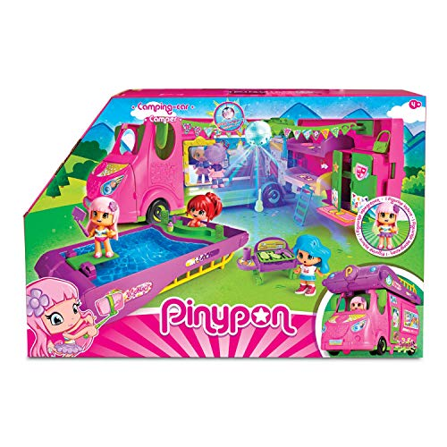 Pinypon Cool Caravan - Set de Juguete y Accesorios
