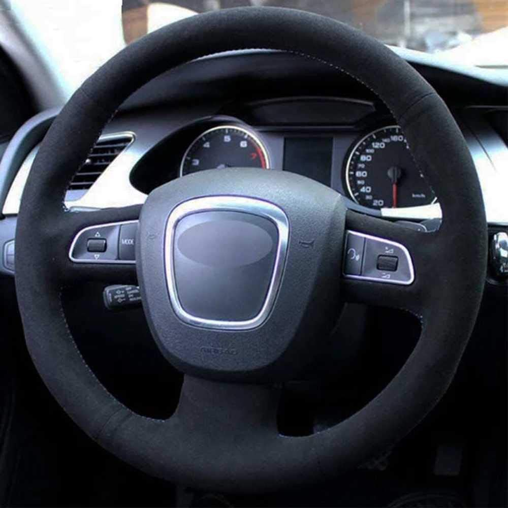 ZIMAwd Hand-Sewn car Philadelphia Mall Steering Wheel Cover Non-Slip St Breathable Now on sale
