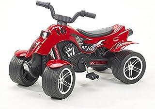 Envío GRATIS. Falk 600 Pirate - Moto Infantil de 4 Ruedas, Color Rojo