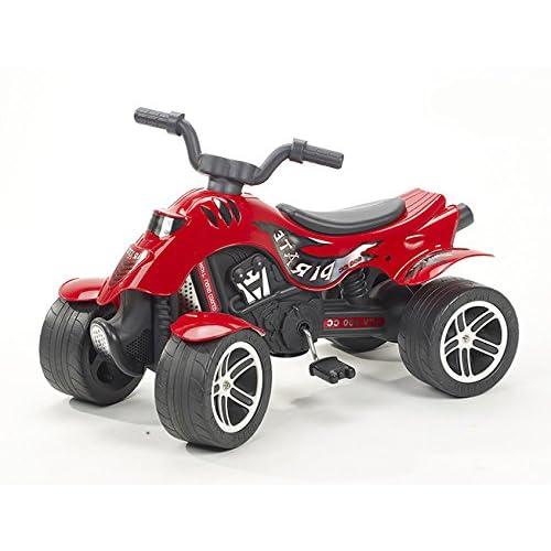 Falk - 600 - Vélo et Véhicule pour Enfant - Quad Pirate - Rouge