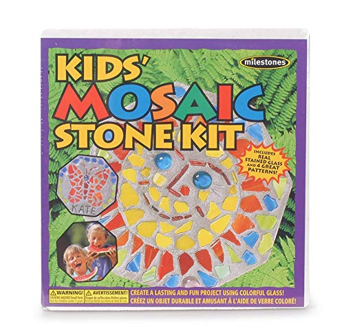 Midwest Products Mosaic Stepping Stone Kit-Kids