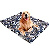 Best Cooling Pad For Dogs - ZEJEUER Pet Dog Self Cooling Mat Ice Silk Review