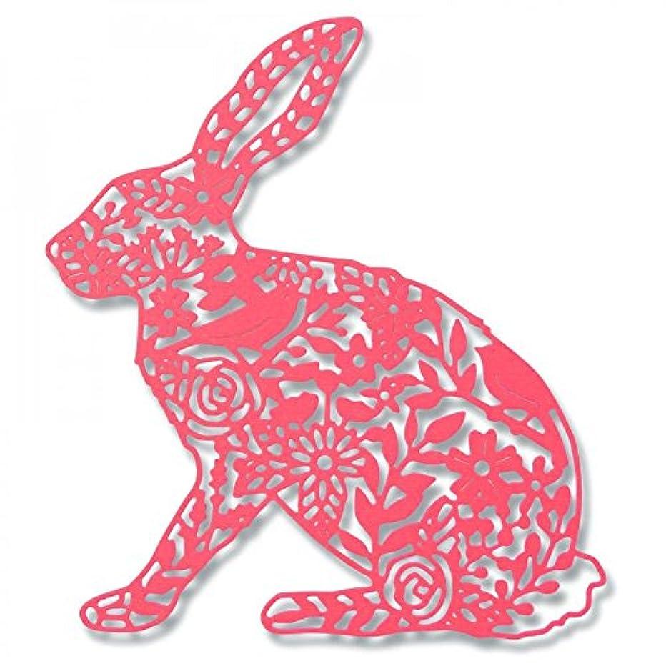 Sizzix Thinlits Die - Wild Rabbit by Georgia Low, Multicolour