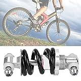 Amortiguadores de resorte de alta robustez Piezas de bicicleta mano de obra exquisita Parachoques de suspensión trasera de bicicleta de montaña de(100 length 650 pounds)