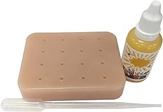 Domeilleur Peach Pimple Popping Divertido Juguete para aliviar el estrés y Quitar el Popper para Dejar de Picar Tus espinillas faciales, Squeezing Acne Toy Set