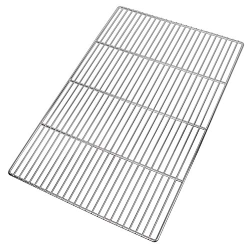LANEJOY Barbecue Wire Mesh, Stainless Steel BBQ Grill Mat, Multifunction Grill Cooking Grid Grate 2...