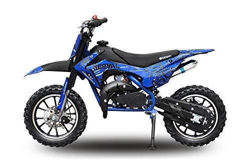 Nitro Motors, Dirtbike Serval da 49 cc, moto da cross per bambini
