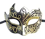 Mens Masquerade Mask Vintage G...