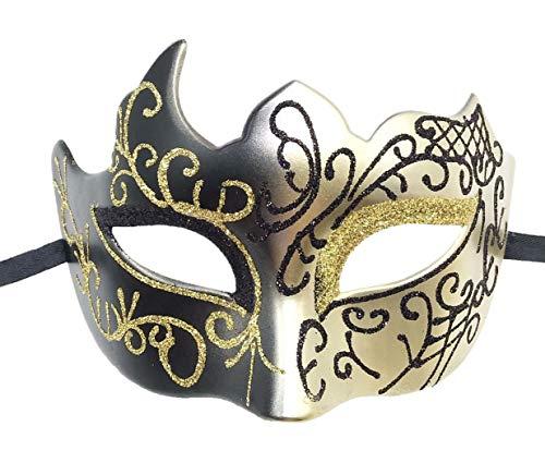 Coolwife Maskerade Maske Vintage venezianische griechische Römische Party Karneval - - Einheitsgröße