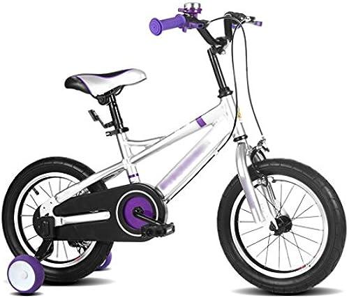 CGN- Kinder fürrad, Junge fürrad Kind mädchen Aluminiumlegierung Kinderwagen Weiß