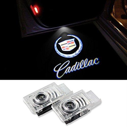 Lyauta 2 Stück Auto Tür Logo Willkommen Licht Projektor Geister Schatten Courtesy Emblem Lampen Einfache Installation