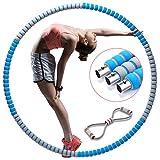 HomeMall Fitnesskreis,Gewichtsverlust Schlankheits Kreis,mit Multifunktions-Spannseil,Gymnastik Kreis für Abnehmen,Fitness,Training,Büro oder Bauchmuskelkonturen