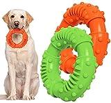 Juguetes para Morder Perros Juguetes Duraderos para Masticar Perros, Juguete para Entrenamiento de Perro, Juguetes de Goma para Limpieza de Dientes para Perros Grandes, Medianos