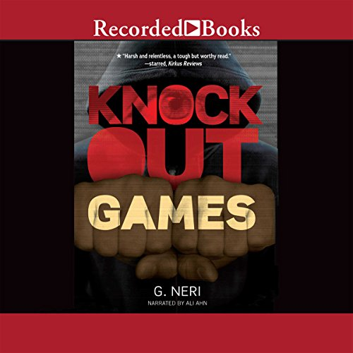 Knockout Games audiobook cover art